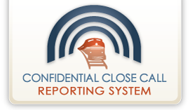 Confidential Close Call Reporting System - logo